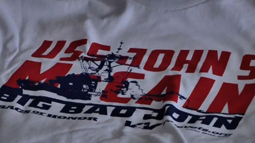 mccain tshirt