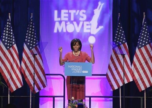 michelle obama let's move 031611