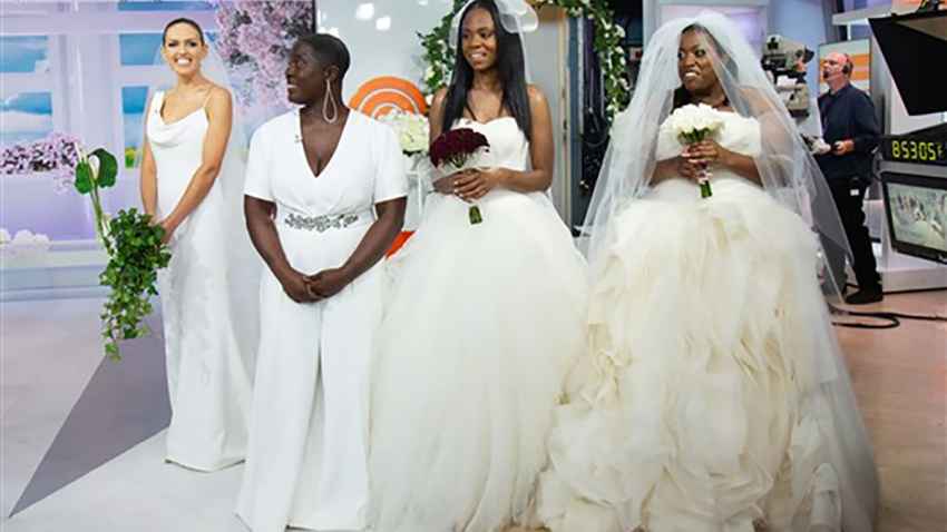 arrives 2018 shoes quite nice Vera Wang Surprises Military Brides With Their Dream Dresses ...