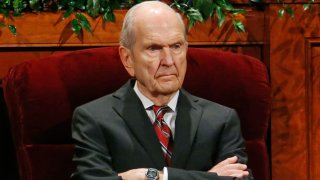 Mormon Conference Russell M. Nelson, president