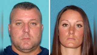Photos of Jeffrey Reitz, 48, and Andrea V. Knox, 35.