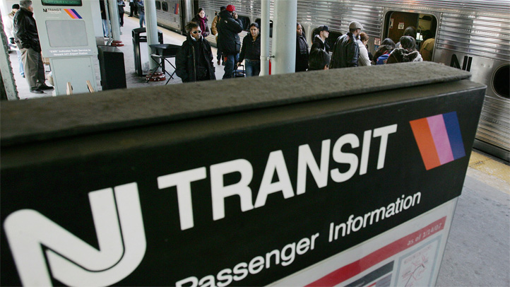 nj transit delays