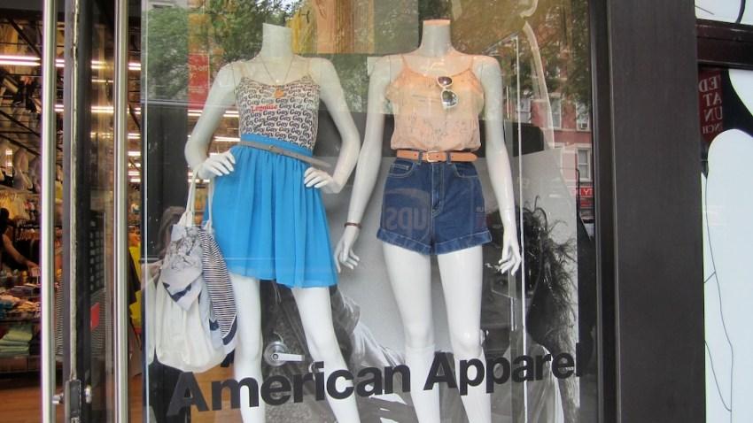 nyc pride windows american apparel