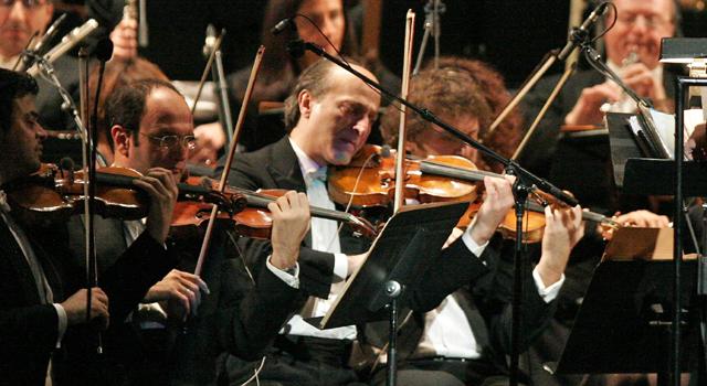 Ennio Morricone performs at Radio City Music Hall