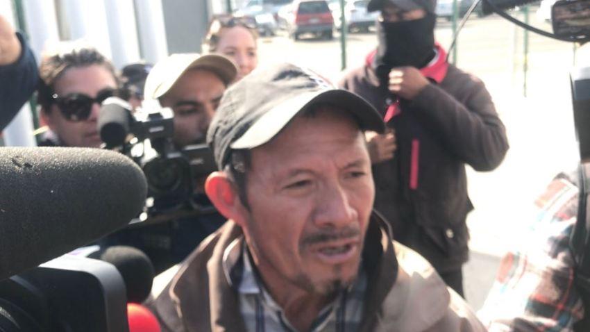 primer migrante expulsado a mexico llega a el chaparral