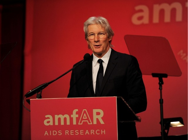 richard gere amfAR 2011 fashion week
