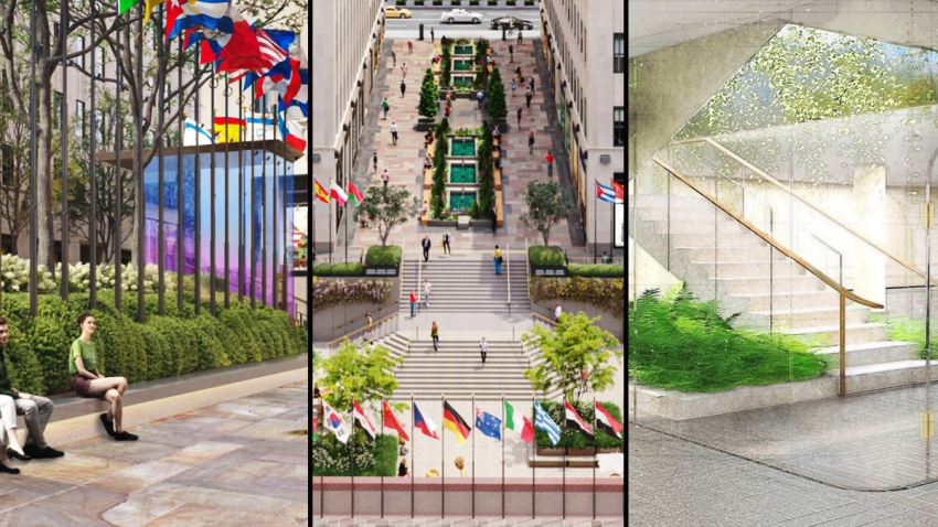Rockefeller Center redesign