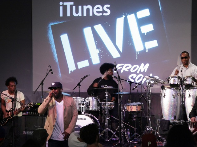 roots at apple store