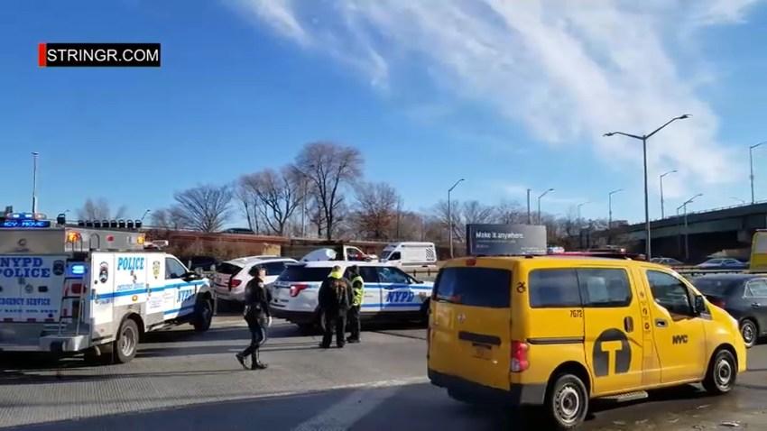 school bus crash li NY ONLY SPEC
