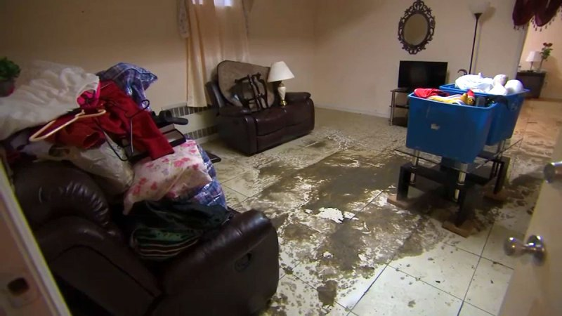 Photos: Queens Homes Are in Vomit-Inducing Condition After Sewage Blockage