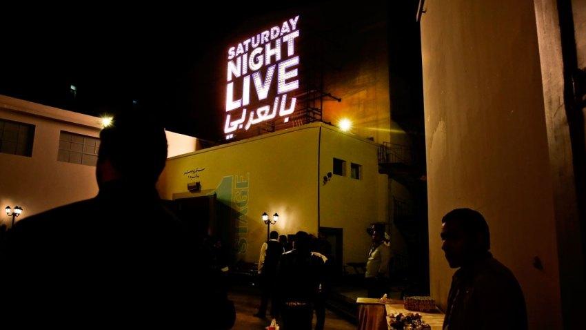 APTOPIX Mideast Egypt SNL