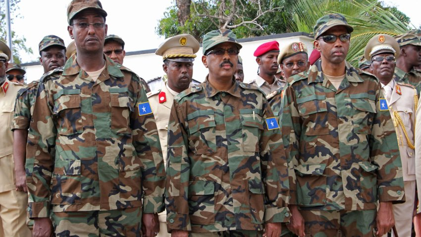 Somali Military Annivarsary