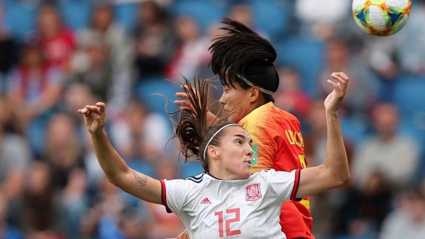 APTOPIX France China Spain WWCup Soccer