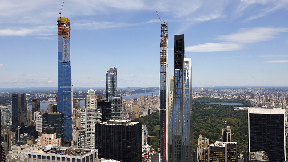 NYC's Central Park Tower Set to Be World's Tallest ...