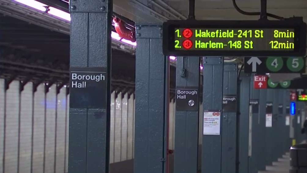 Woman Hit, Pushed Onto Tracks in Unprovoked Attack at Brooklyn Subway Station