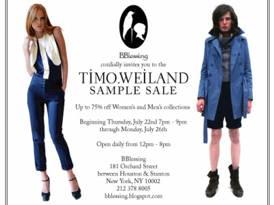 timo weiland sample sale july 2010