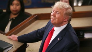U.S. President Donald Trump at State of the Union