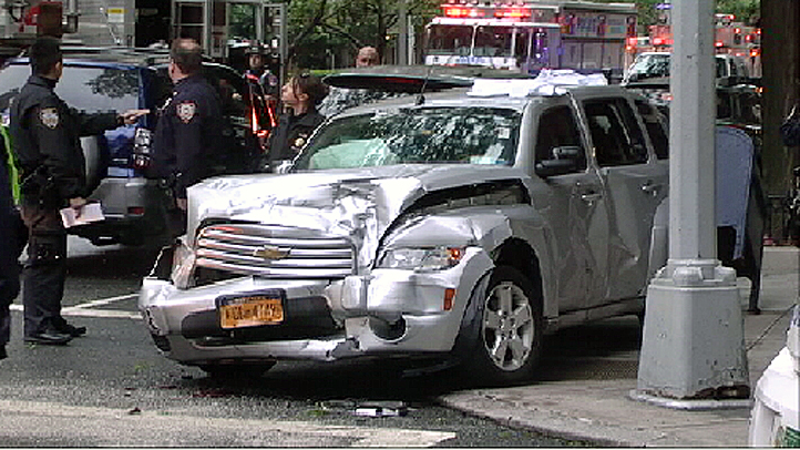 ues car crash