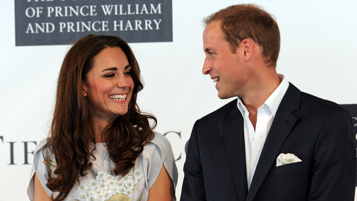 Catherine and William at polo club