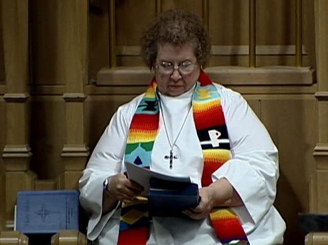 101908 Margaret Howland pastor 50 years