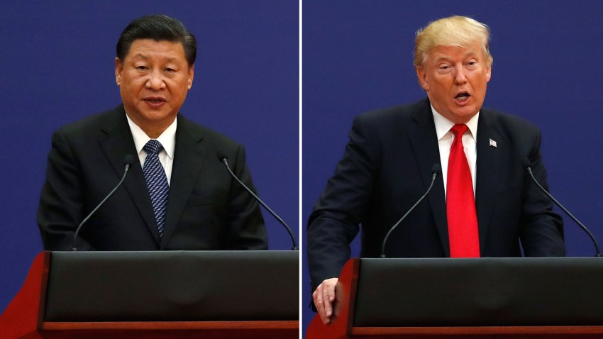 China US Xi vs Trump