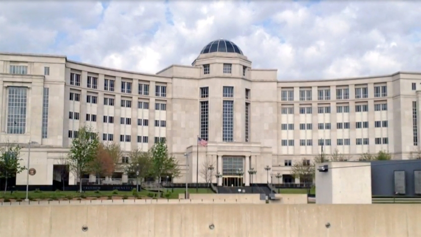 Undated file photo of the Michigan Hall of Justice