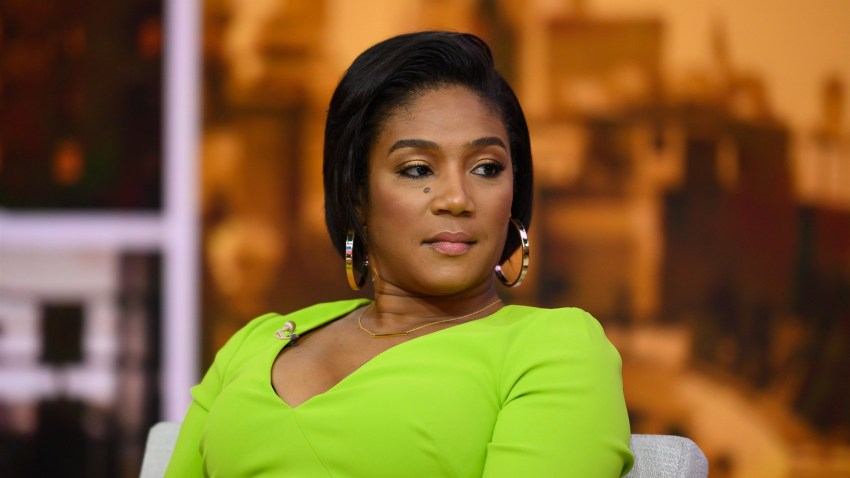 """Tiffany Haddish appears on NBC's """"TODAY"""" show on Aug. 7, 2019."""