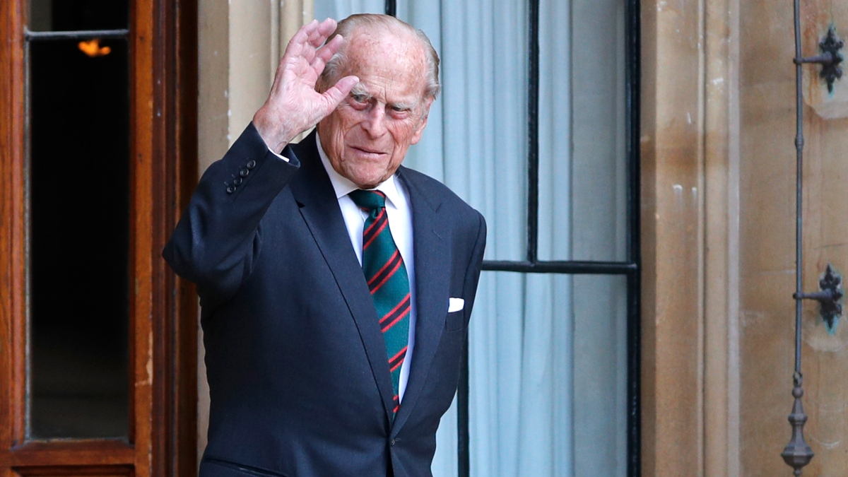 Britain's Prince Philip, 99, Makes Rare Public Appearance ...