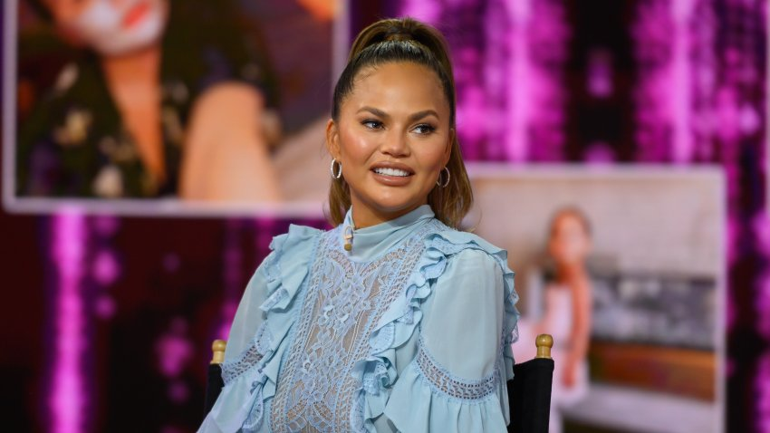 "In this Feb. 19, 2020, file photo, Chrissy Teigen appears on ""Today."""