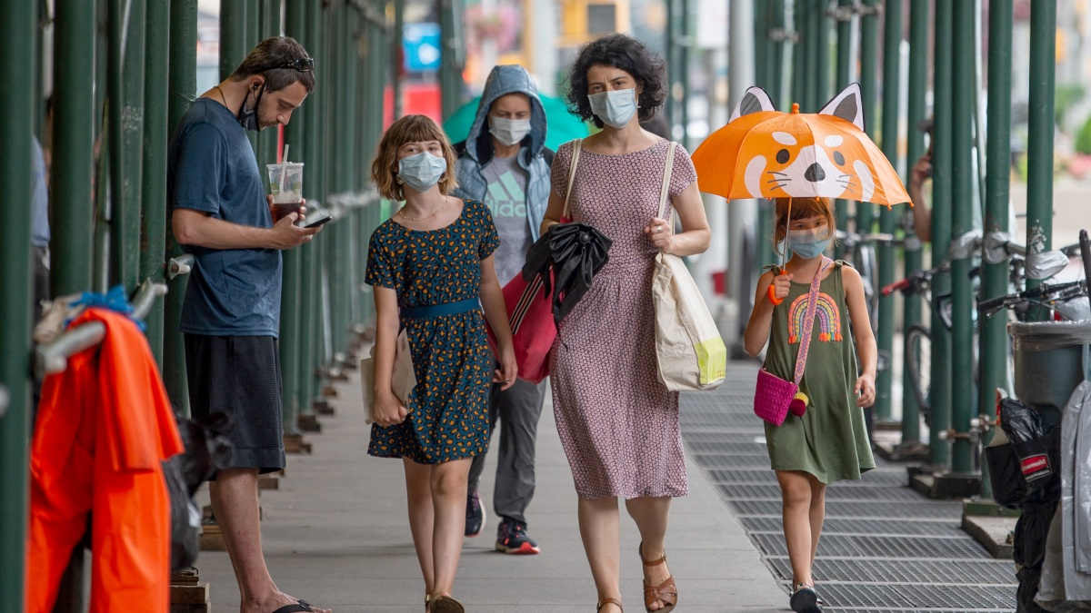 New York City Without Coronavirus Deaths Four Months After First Report