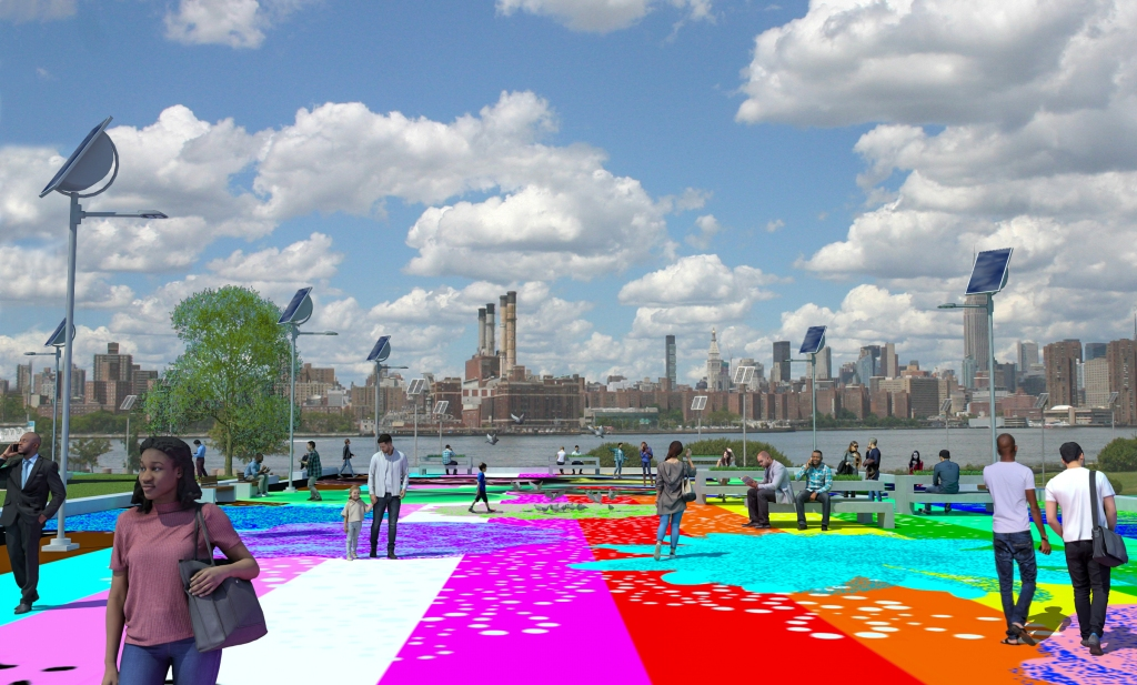 Digital rendering of Marsha P. Johnson State Park