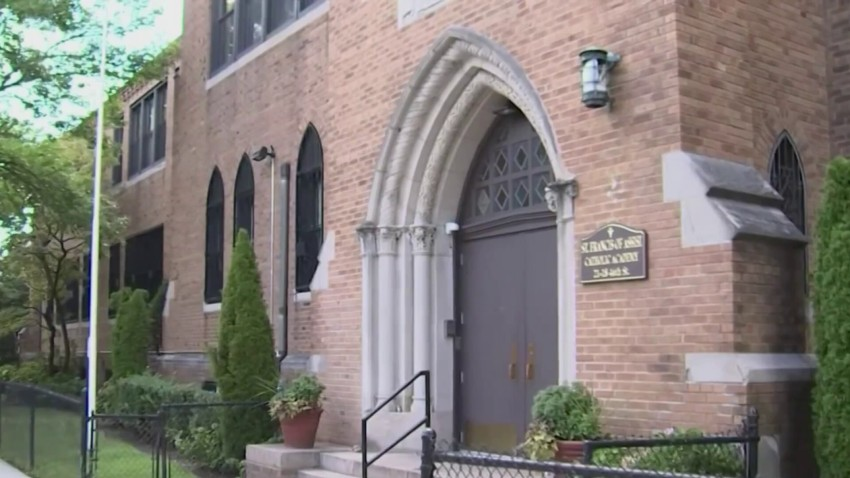 St. Francis of Assisi school in Astoria