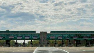 NJ highway toll plaza