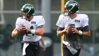 New York Jets run training