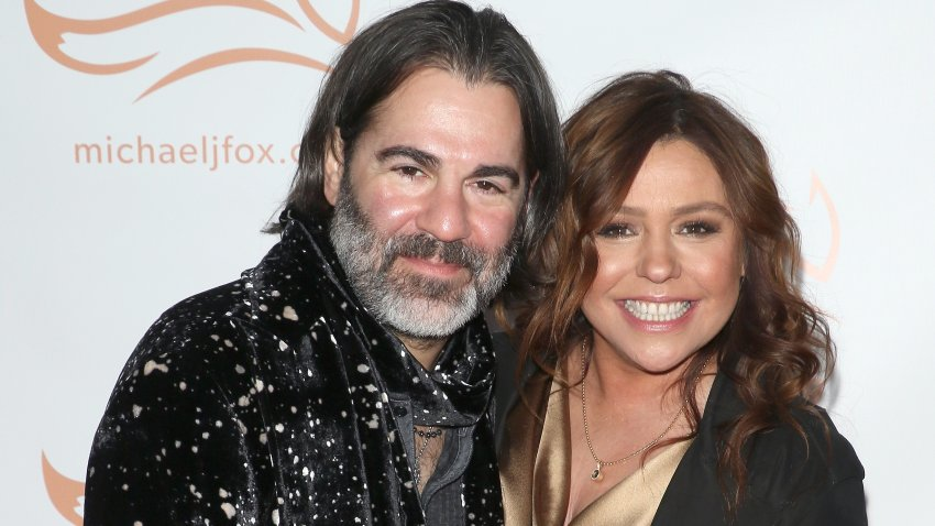 In this Nov. 16, 2019, file photo, singer John M. Cusimano and TV personality Rachael Ray attend the 2019 A Funny Thing Happened On The Way To Cure Parkinson's at the Hilton New York in New York City.