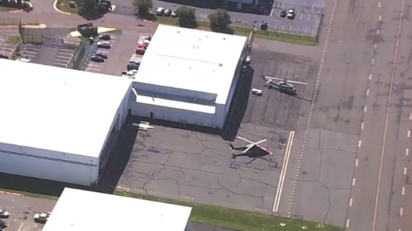 Manassas Regional Airport aerial photo