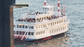 hundreds party on boat, violating social distancing laws
