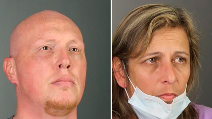 """James Kevin McGonnell and Carol Steinagle face kidnapping and assault charges for the """"horrific"""" abuse of a child who was kept in their garage and beaten almost daily, authorities said."""