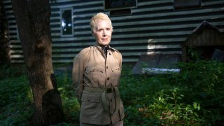 WARWICK, NEW YORK - JUNE 21,2019: E. Jean Carroll at her home in Warwick, NY.