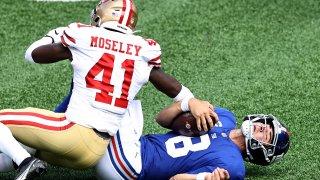 daniel jones is tackled