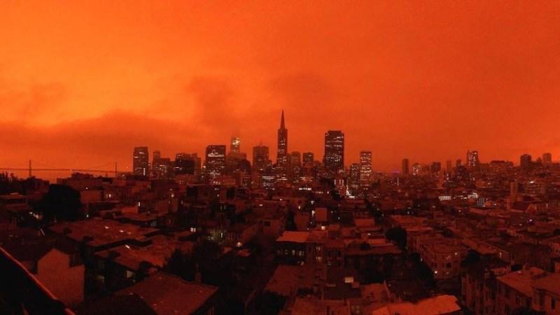 PHOTOS: Bay Area Sky Turns Orange and Yellow As Smoke Blankets Region