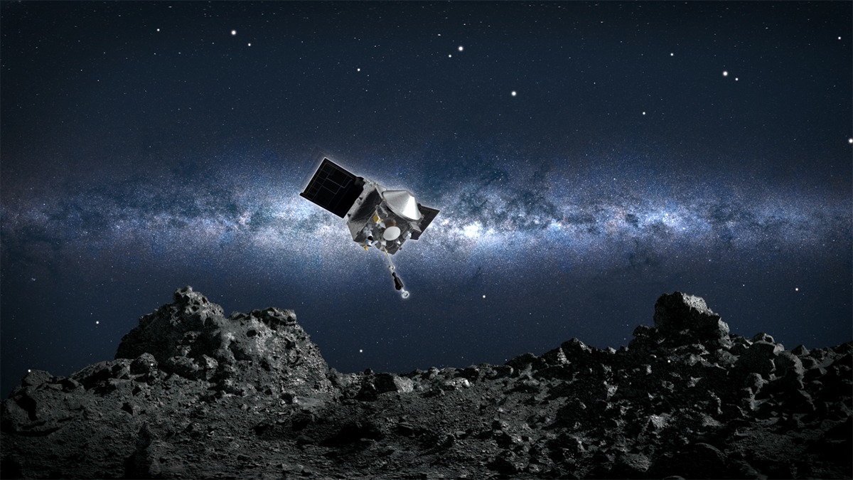 NASA Makes History With Sample of Asteroid Soil