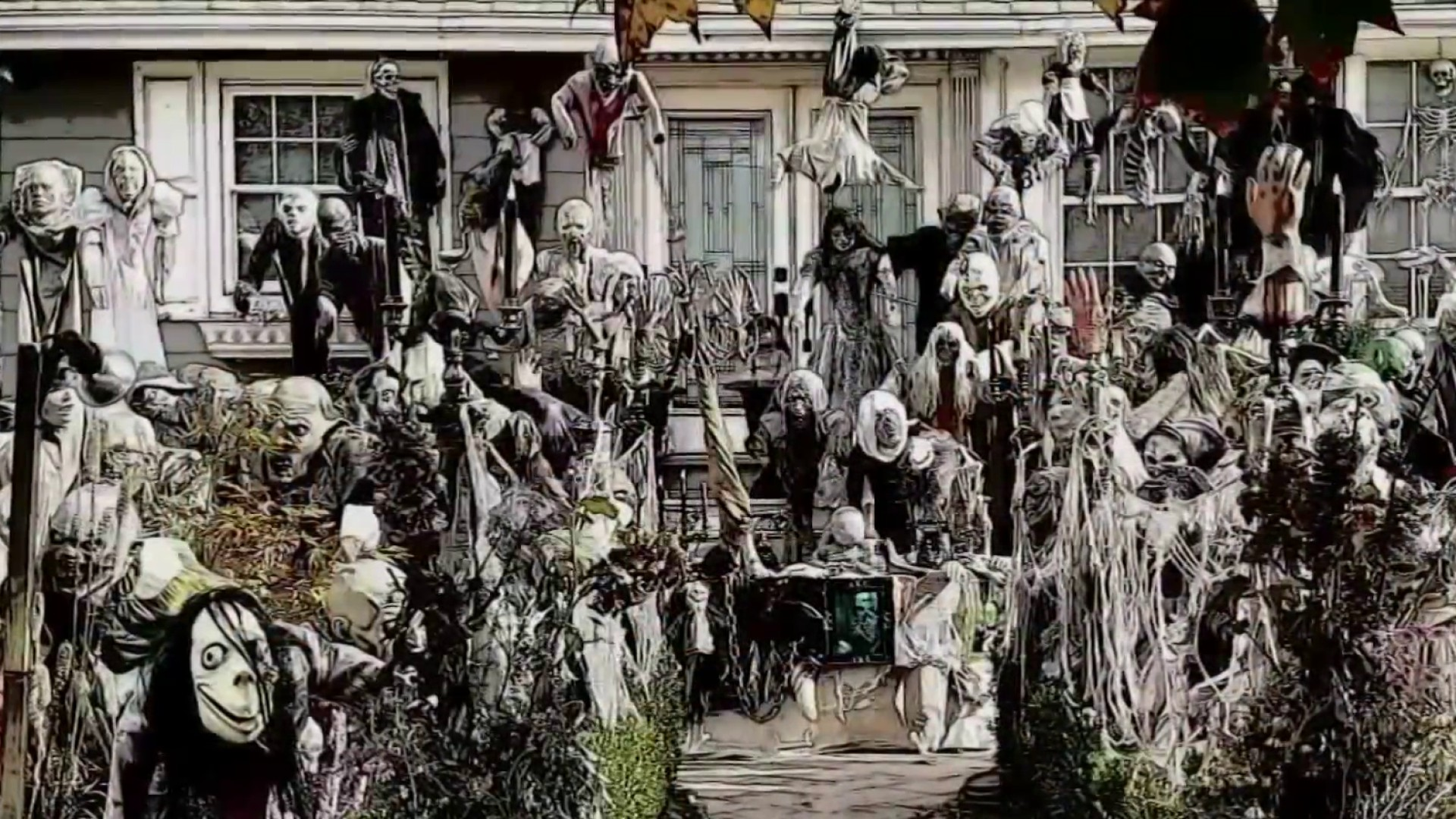 Neighbors Rally to Bring NJ Man's Halloween Display Back After Complaints of Crowd