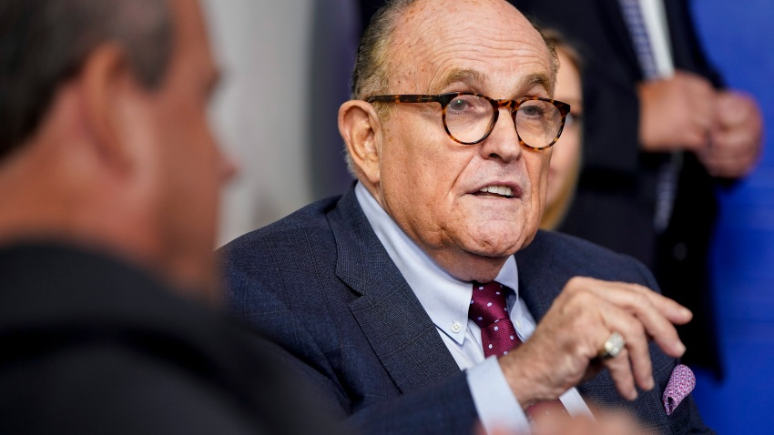 Former New York Mayor Rudy Giuliani