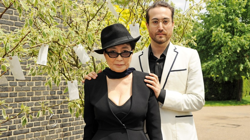 Yoko Ono: To The Light - Exhibition At The Serpentine Gallery - Photocall