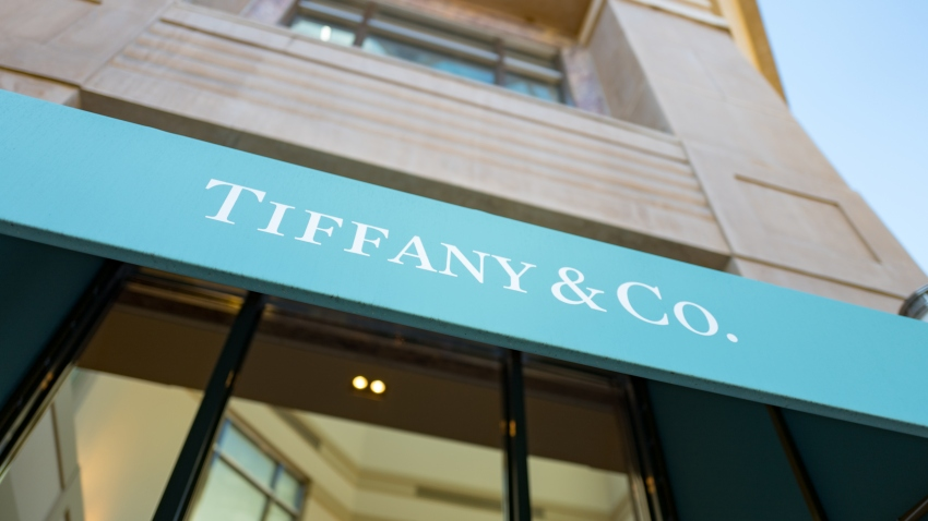 Front of Tiffany's store