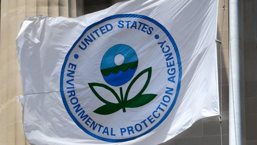 Flag with EPA logo