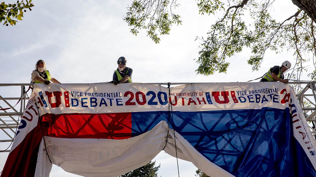 Mike Pence and Kamala Harris VP Debate Will Have Plexiglass Barrier Because of Coronavirus Concerns – NBC New York