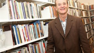 Bill Murray at Poets House
