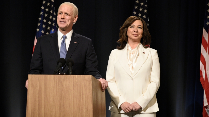 How Snl Recreated Kamala Harris White Pantsuit With Just Minutes To Spare Nbc New York
